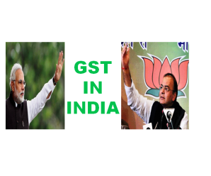 GST Constitutional 122nd amendment bill 2014