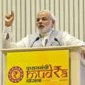 Pradhan Mantri Mudra Yojana (PMMY) crosses the target of Rs. 1.8 lakh crore for 2016-17