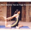 No More Service Tax on Yoga Tranining : Covered in Mega Exemption