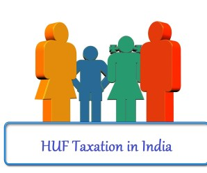 HUF Taxation in India