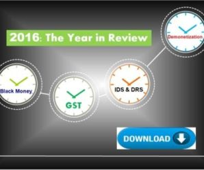 2016 The Year in Review [Direct & Indirect Taxes]